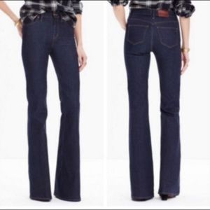 Madewell High Rise Flea Market Flare Jeans size 26